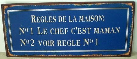 plaque-regles-maison